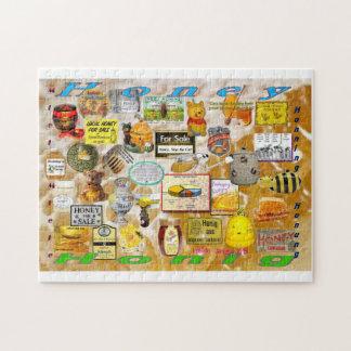 Honey, Honig, Miel, Miele, Honning, Honung - Yum! Jigsaw Puzzle