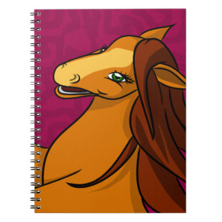 Honey Horse Close up Notebook
