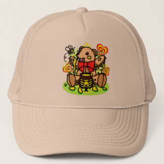 HONEY_HUNTER TRUCKER HAT