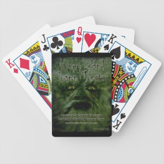 Honey Island Swamp Monster Cryptid Cards