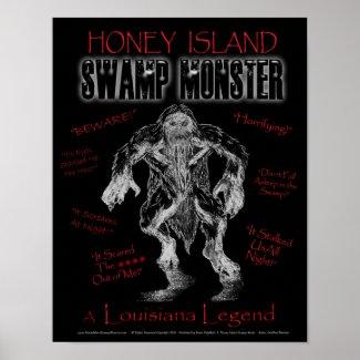 Honey Island Swamp Monster Poster