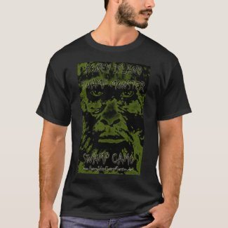 HONEY ISLAND SWAMP MONSTER SWAMP CAMO T-Shirt