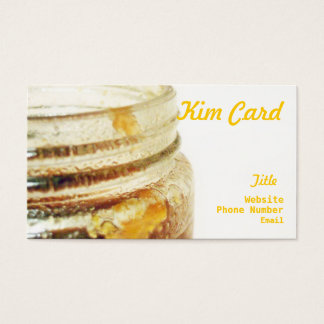 Honey Jar Business Cards