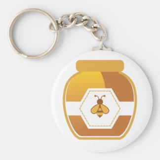 Honey Jar Keychain