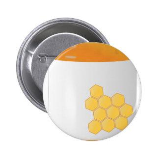 Honey Jar Pinback Button