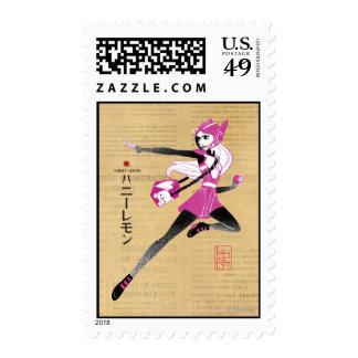 Honey Lemon on the Run Postage Stamps