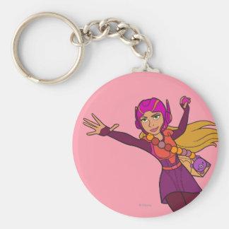 Honey Lemon Pink Suit Keychain