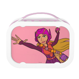 Honey Lemon Pink Suit Yubo Lunch Box