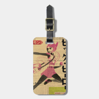 Honey Lemon Propaganda Luggage Tag