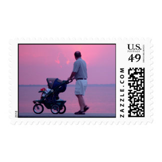 Honey Look at the Sunset Postage