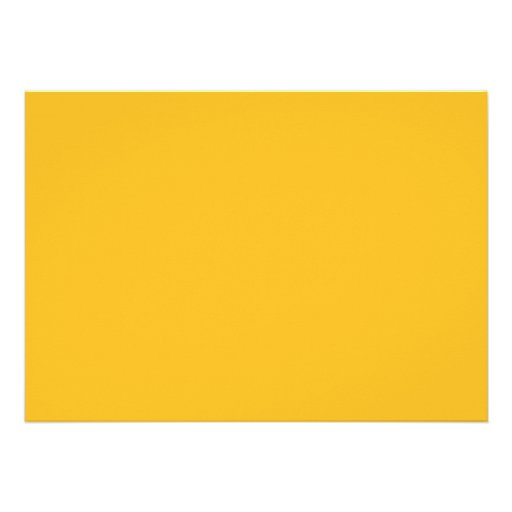 Honey Mustard Yellow Color Trend Blank Template ...