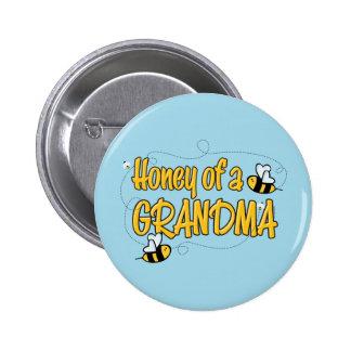 Honey of a Grandma Button