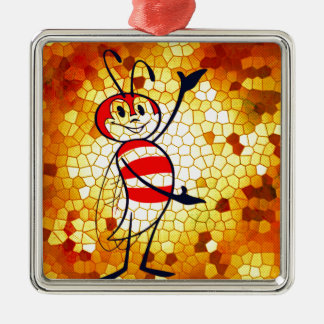 HONEY OF A HOME METAL ORNAMENT