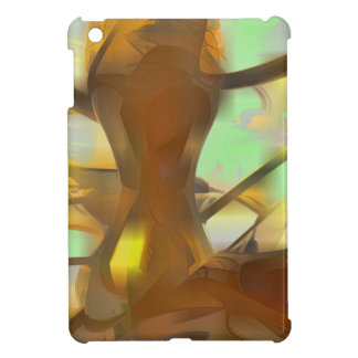 Honey Pastel Abstract Case For The iPad Mini