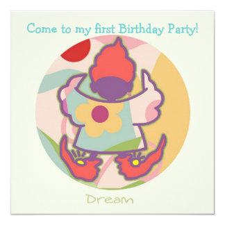 Honey Pie - Dream (Girl) Party invitation card