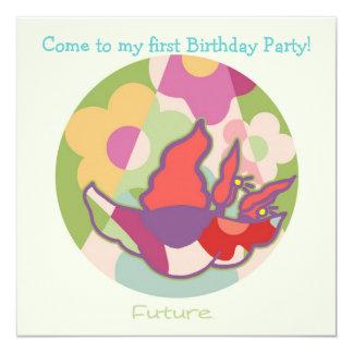 Honey Pie - Future (Girl) Party invitation card