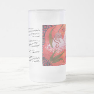 Honey Possum Dreaming Frosted Glass 16 Oz Frosted Glass Beer Mug