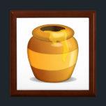 """Honey Pot - Emoji Jewelry Box<br><div class=""""desc"""">Honey Pot - Emoji</div>"""