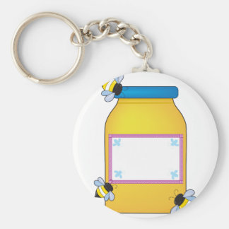 Honey Pot Keychain