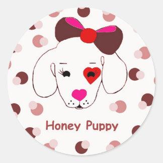 Honey Puppy  Sticker
