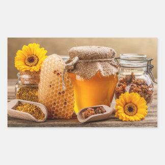 Honey Rectangular Sticker