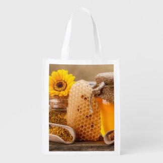 Honey Reusable Grocery Bag