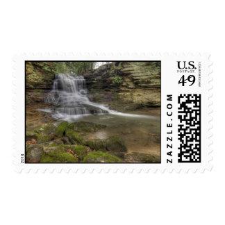 Honey Run Falls, Ohio Postage Stamp