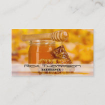 Honey Seller / Beekeeper Bee Farm Farmer Shop Business Card