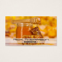 Honey Seller / Beekeeper Bee Farm Farmer Shop Business Card