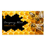 Honey Seller - Beekeeper Double-Sided Standard Business Cards (Pack Of 100)