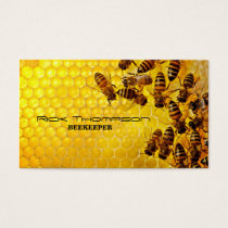 Honey Seller / Beekeeper Farmer Bee Farm Shop Business Card