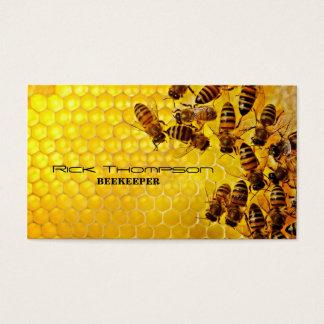 Honey Seller / Beekeeper Farmer Bee Farm Shop Business Card