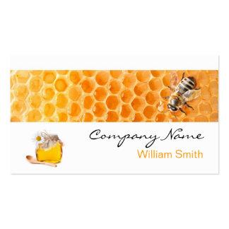 Honey Seller - Beekeeper Plantilla De Tarjeta Personal