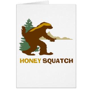 Honey Squatch Card