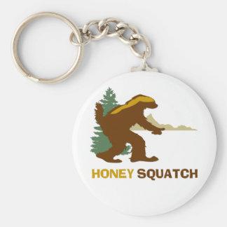 Honey Squatch Keychain