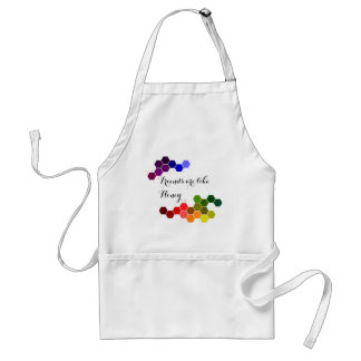 Honey Theme With Positive Words Adult Apron