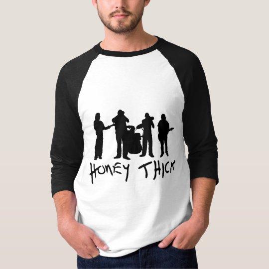 Honey Thick silhouette 3/4 length Tshirt