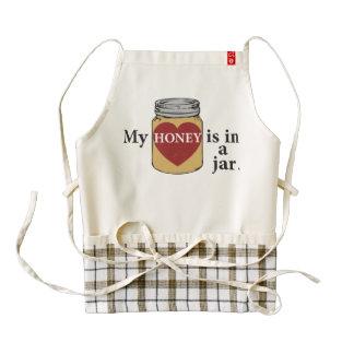 Honey Zazzle HEART Apron