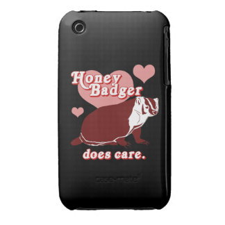 Honeybadger does care iPhone 3 cover