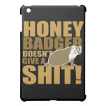 Honeybadger don't care iPad mini cover