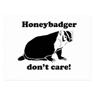 Honeybadger no cuida postal