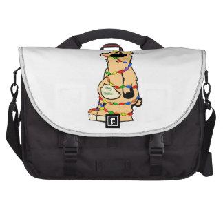 Honeybear Christmas Computer Bag