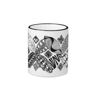 Honeybee - Abstract Art Mug