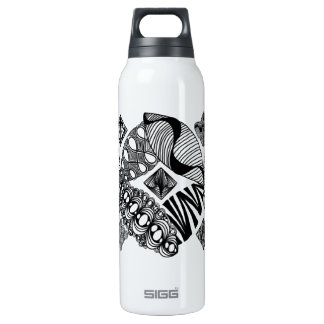Honeybee - Abstract Art 16 Oz Insulated SIGG Thermos Water Bottle