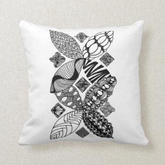 Honeybee - Abstract Art Throw Pillow