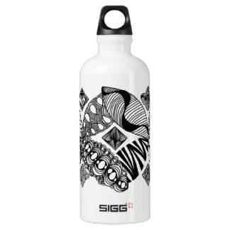 Honeybee - Abstract Art Water Bottle
