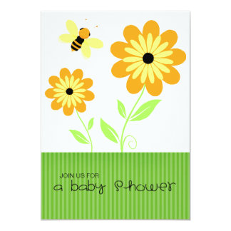 Honeybee Baby Shower Invitations