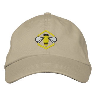 Honeybee Beekeeper Hat (Embroidered)