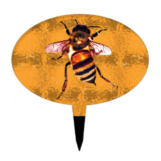 Honeybee Cake Toppers