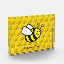 Honeybee Cartoon Acrylic Award